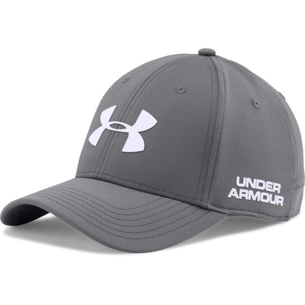 Under Armour 2017 Mens UA Headline Stretch Fit Cap Golf ...