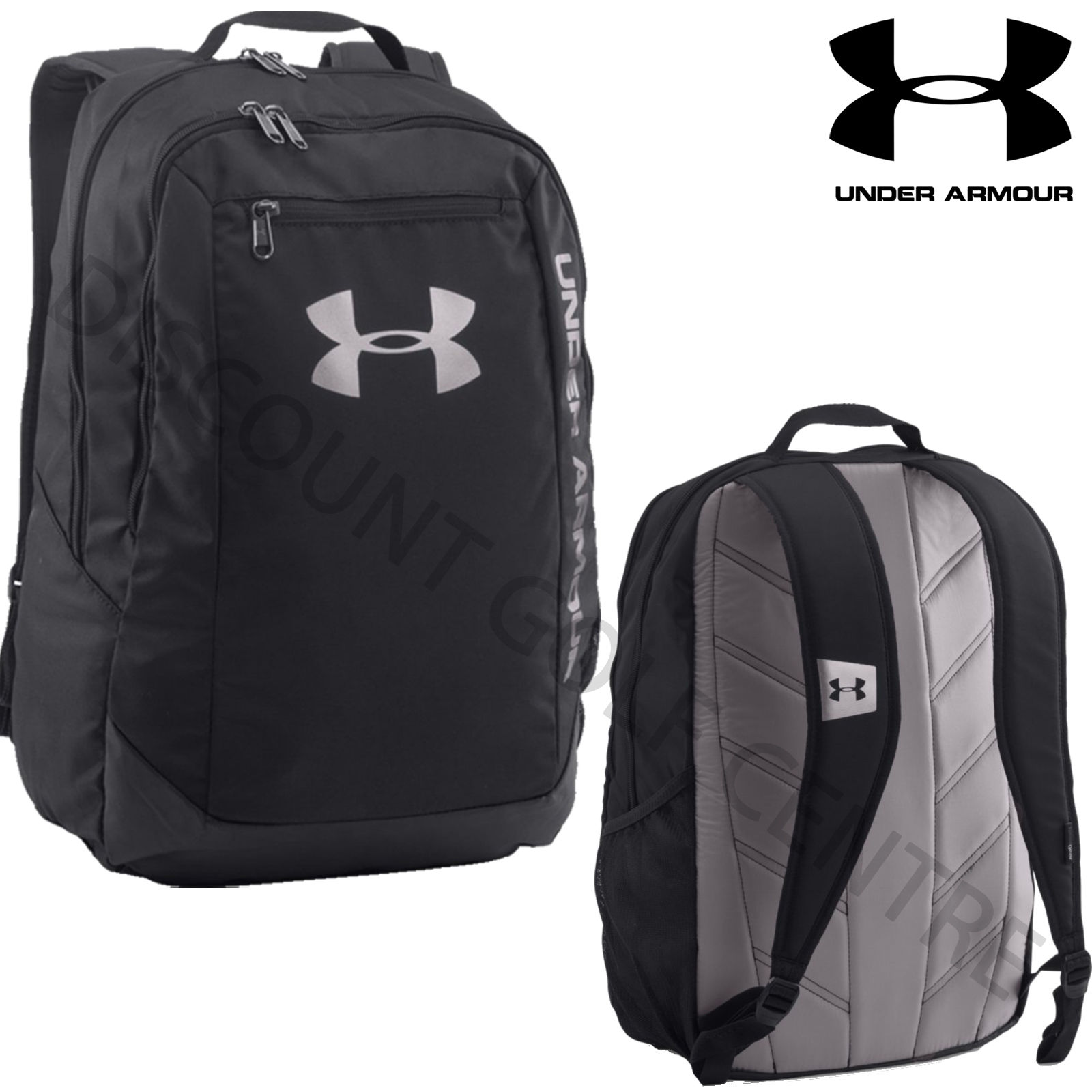 under armour 2017 ua hustle ldwr backpack rucksack gym. Black Bedroom Furniture Sets. Home Design Ideas