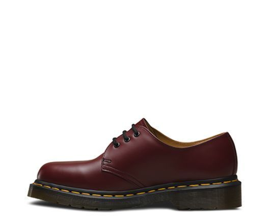 mens womens dr martens 1461 classic 3 eyelet lace up leather shoes sizes 3 to 15. Black Bedroom Furniture Sets. Home Design Ideas