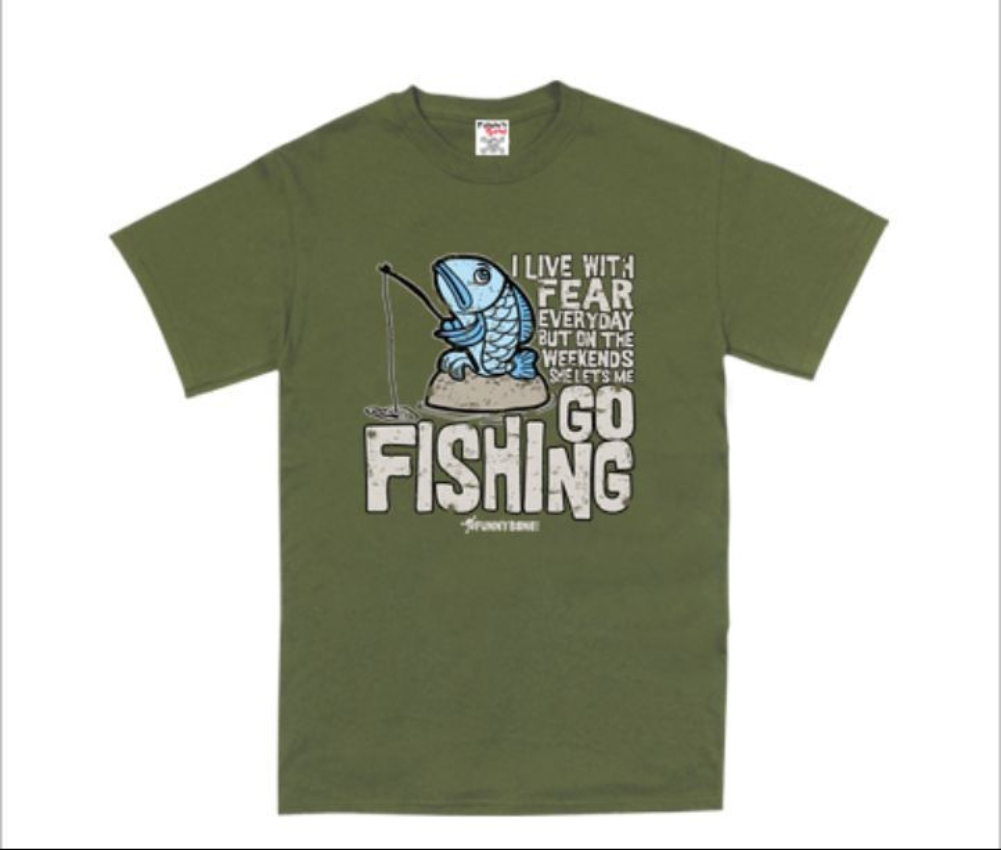 Mens funny novelty fishing fisherman angling top tee t for Best fishing shirts men