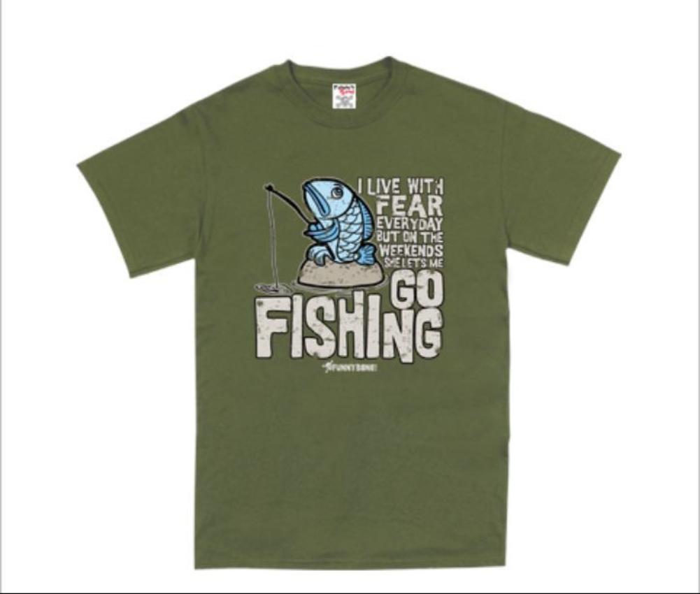 Mens Funny Novelty Fishing Fisherman Angling Top Tee T Shirts Ebay