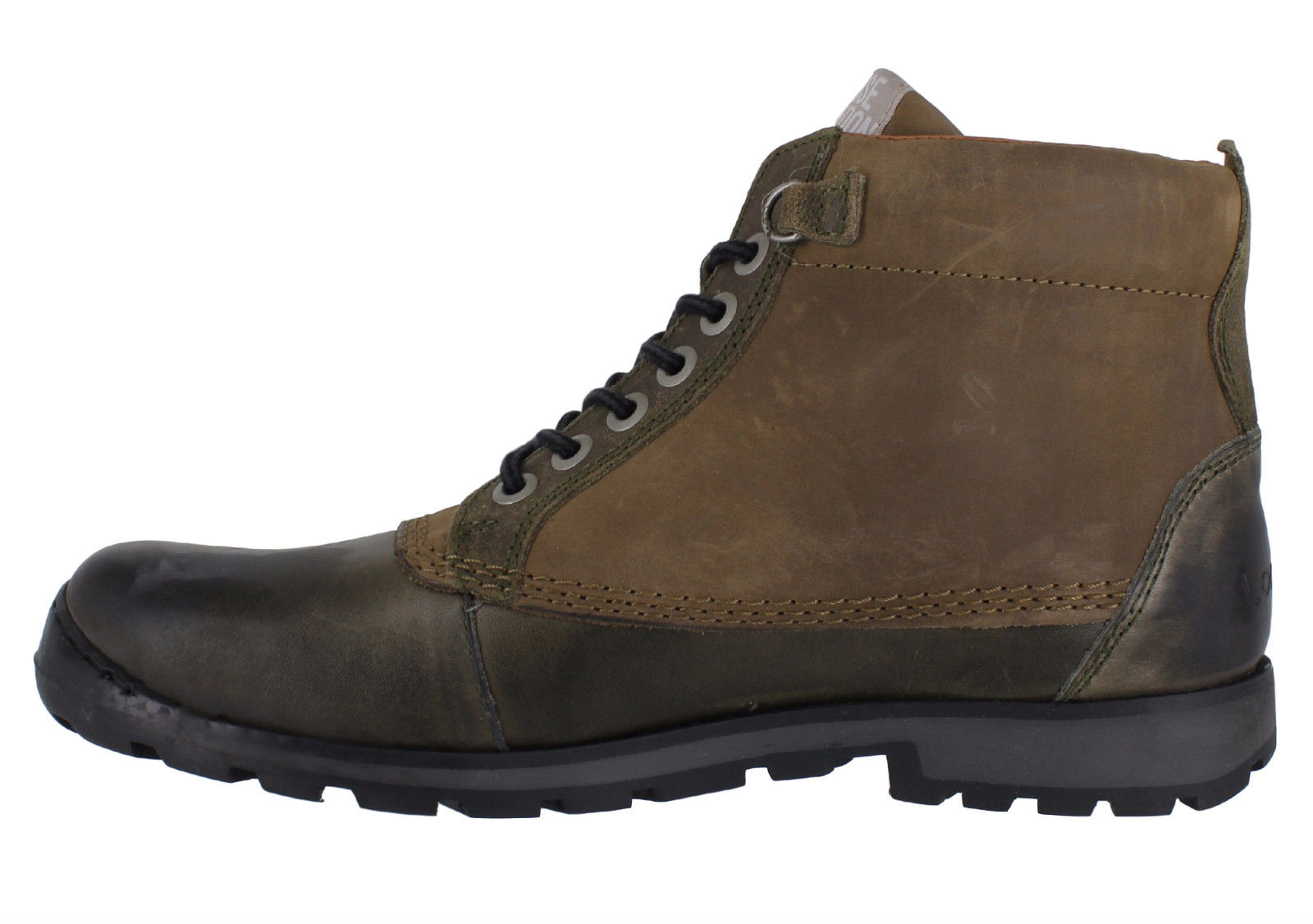 base donald mens casual rugged nubuck leather lace