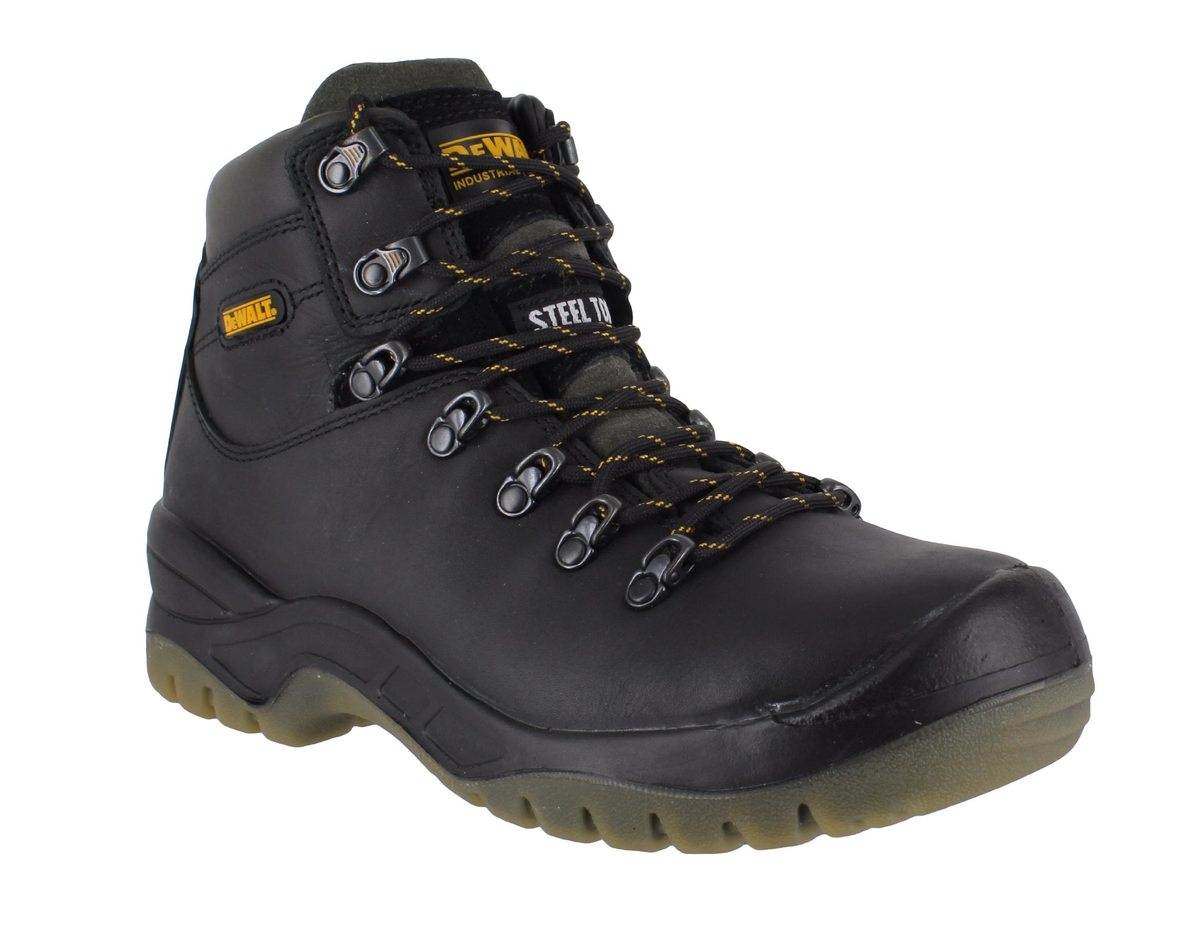 DeWalt Demolition Mens Heavy Duty Steel Toe S3 Black Safety Work Boots | EBay