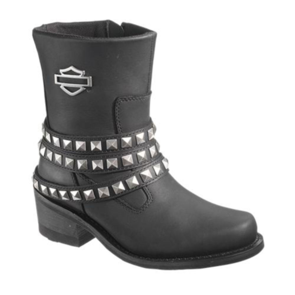 New Harley Davidson Penelope 14u0026quot; Riding Boots Womens (B004H9AW5I) $159.99