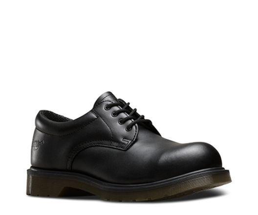 Dr Martens ICON 6735 - Mens Black Smart Safety Work Shoes - Steel Toe