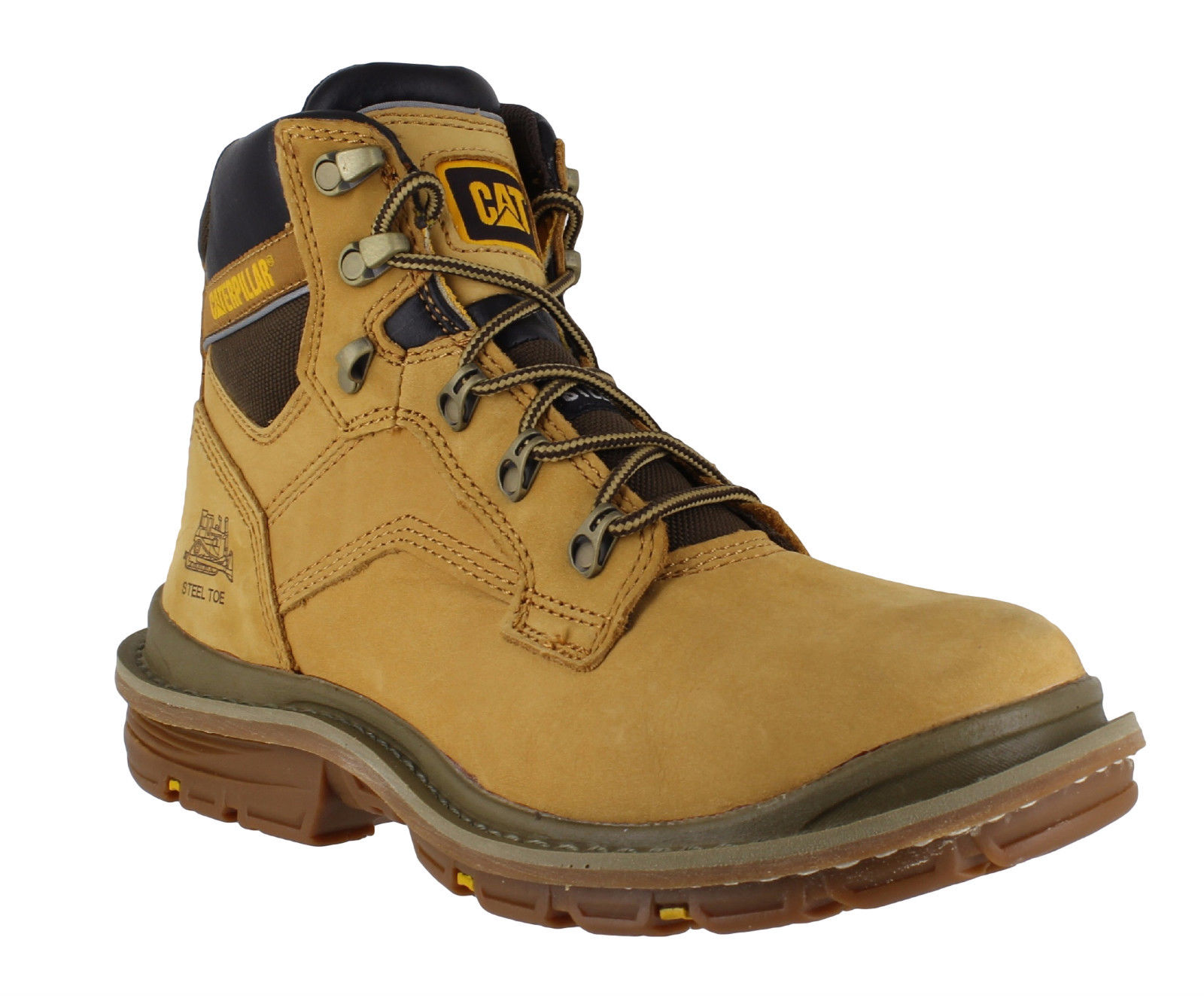 Mens Caterpillar Generator Steel Toe S3 SRX Safety Work Boots UK ...