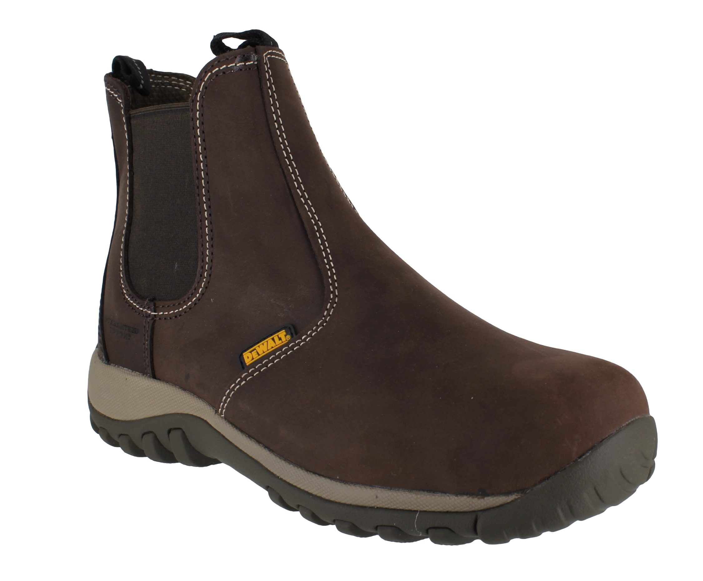 DeWalt Radial Mens Steel Toe SBP Safety Dealer Slip On Work Boots ...