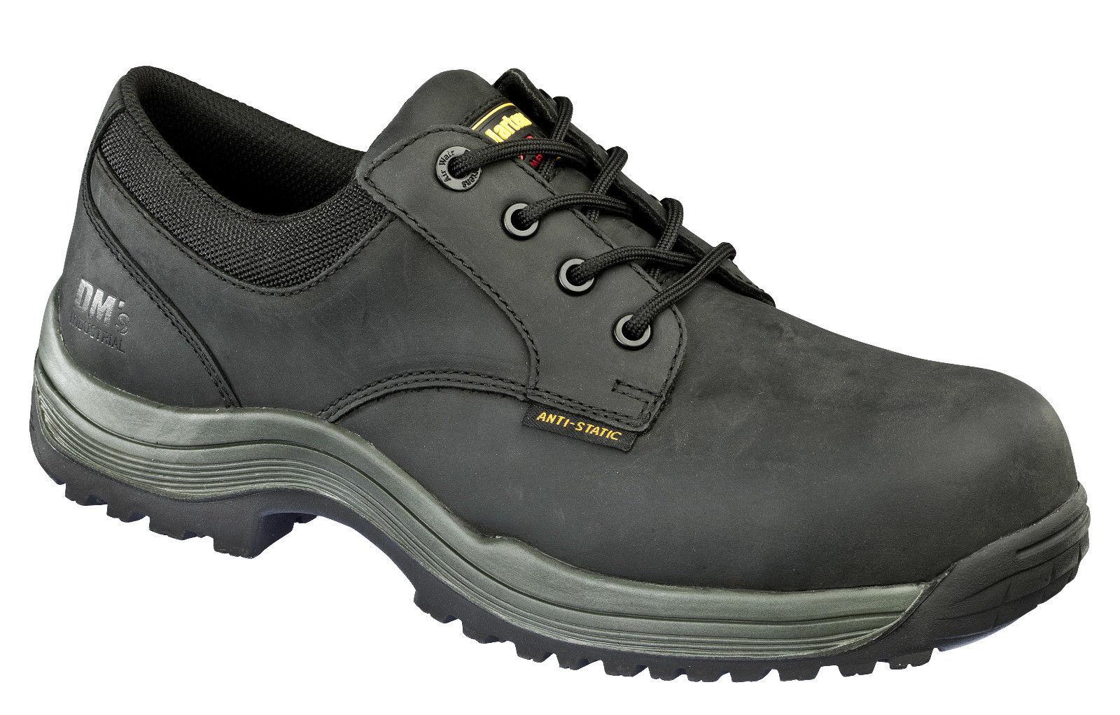 Dr Martens Hawk - Mens Black Smart Safety Work Shoes - Composite Toe | EBay