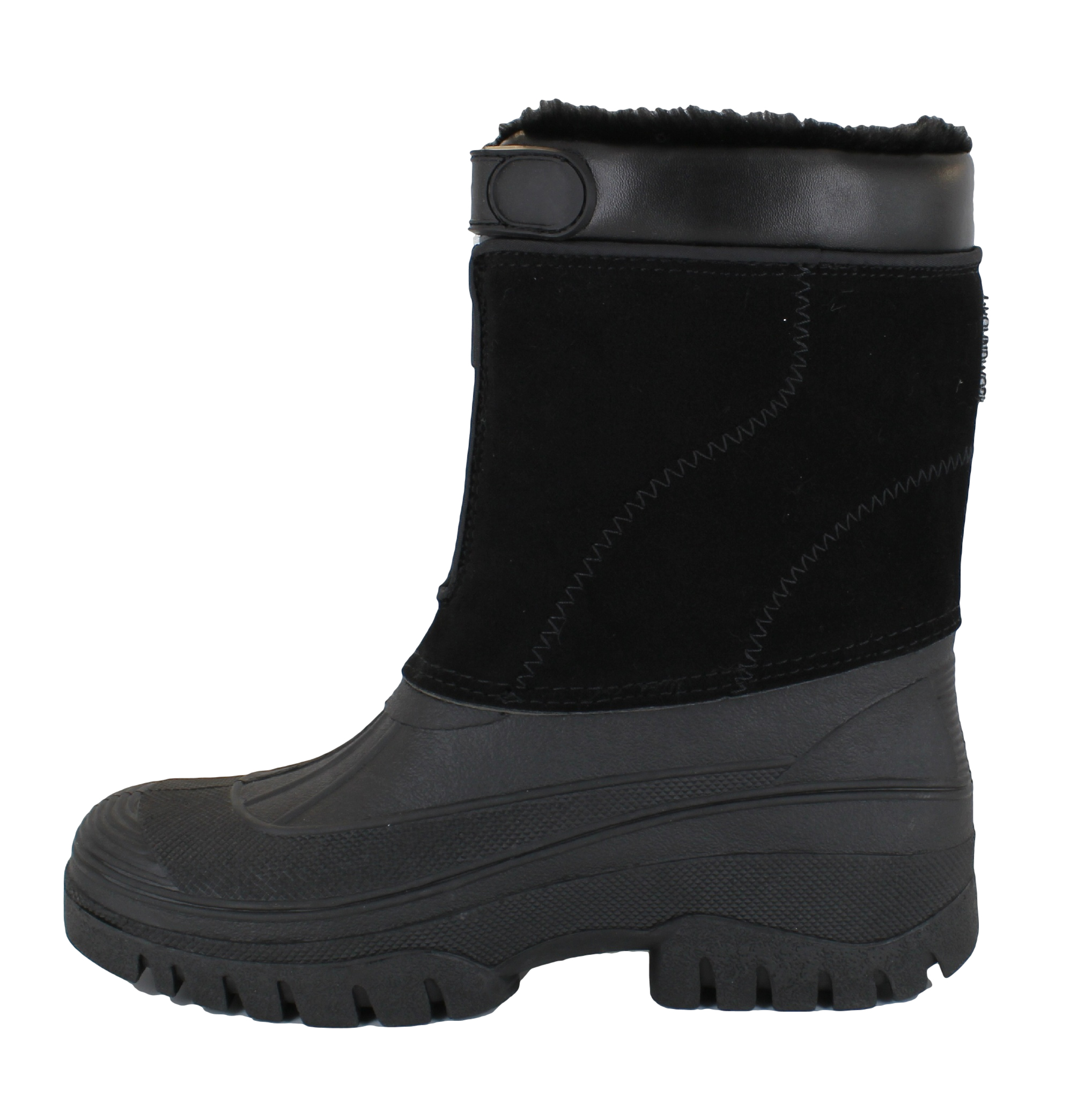 groundwork womens black mucker stable yard winter snow zip