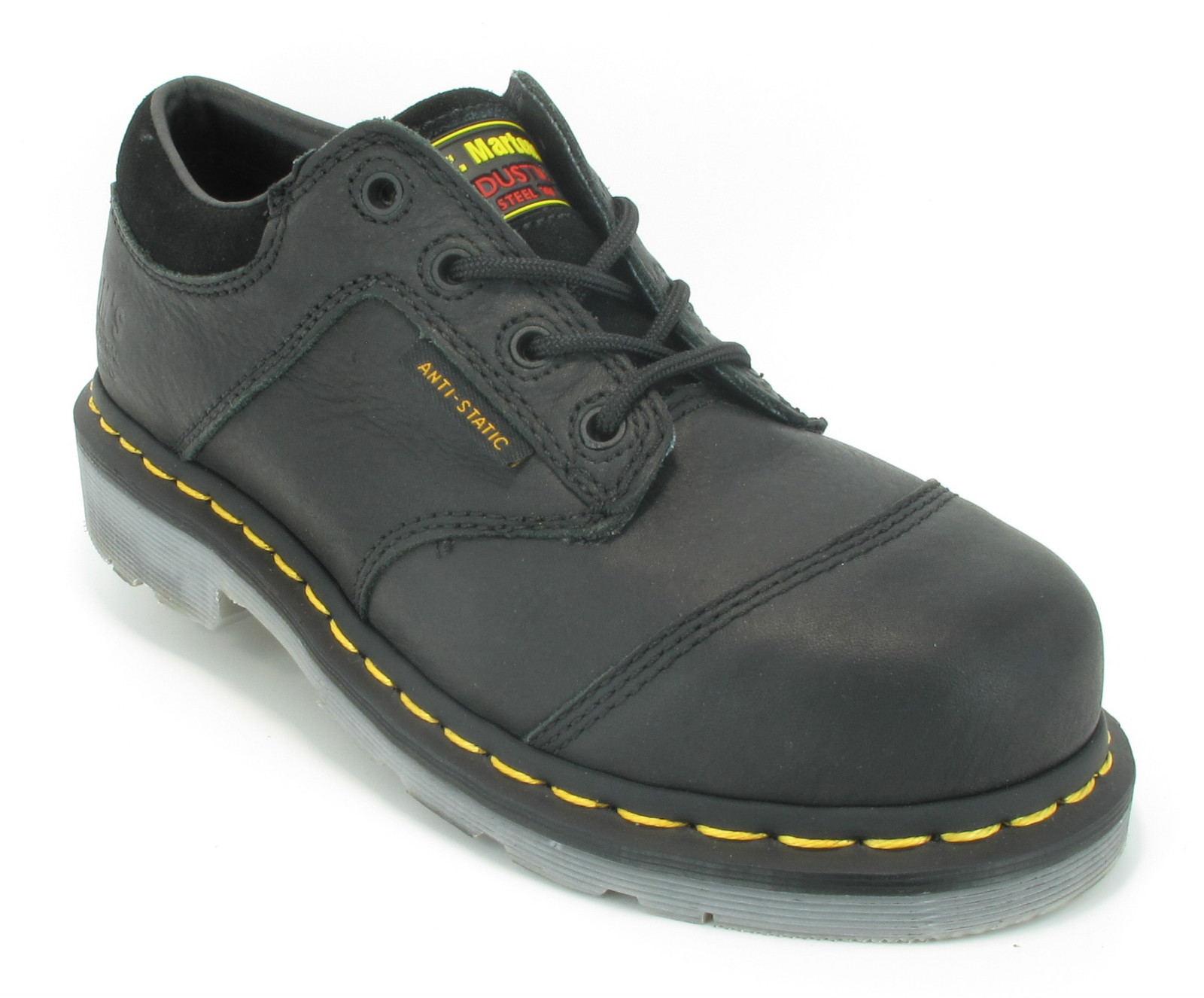 womens dr martens airwair steel toe cap safety working