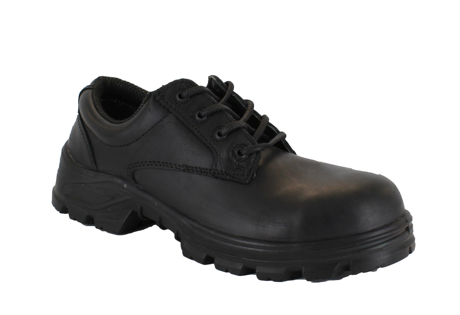 Terra Emerson S3 Mens Black Formal Smart Safety Composite Toe Shoes | EBay