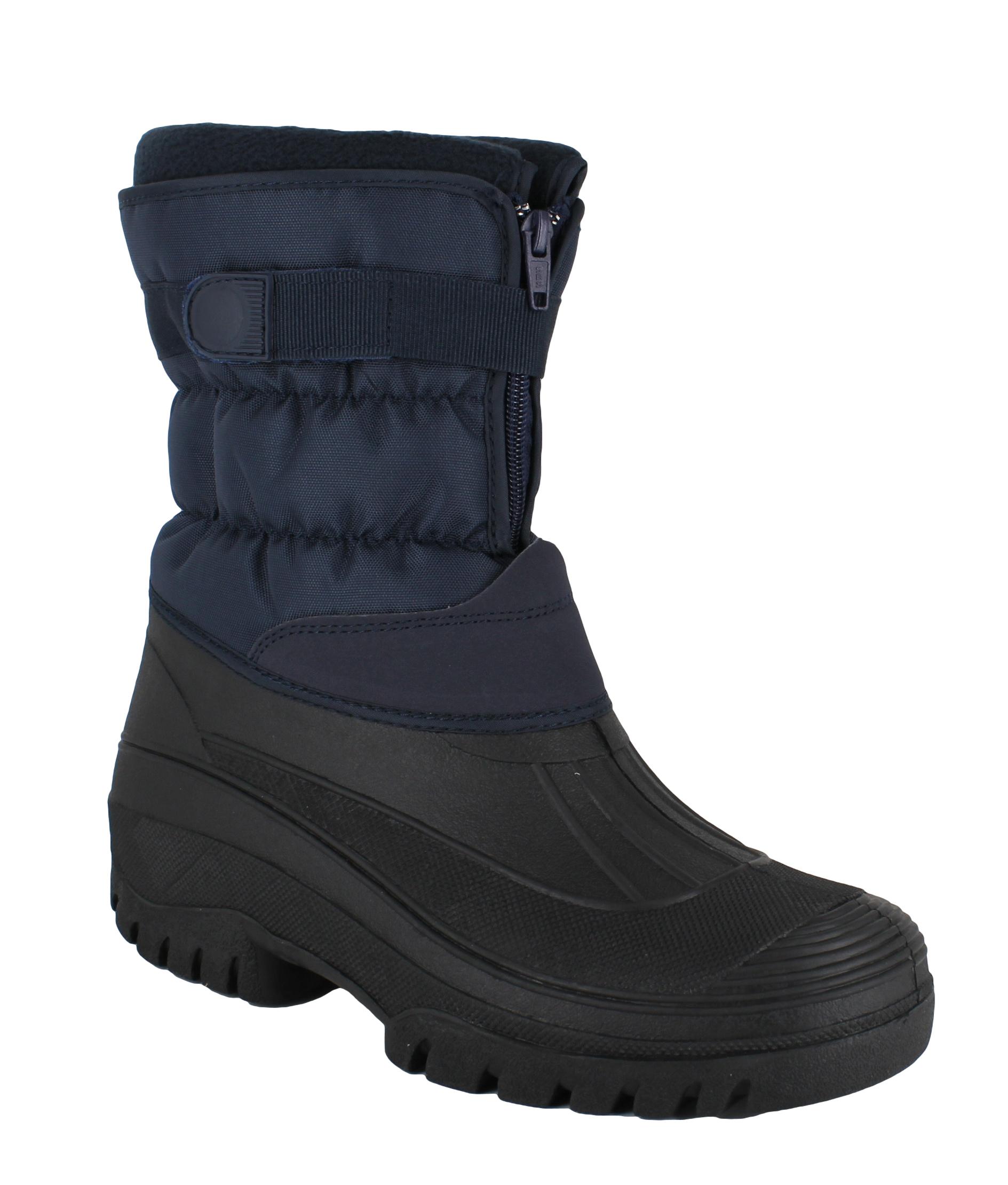 mens groundwork muckers mukker stable winter snow boots uk