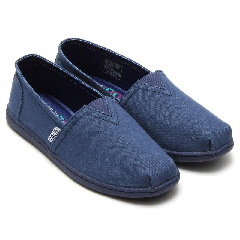 Canvas Flat Shoes Casual Bobs