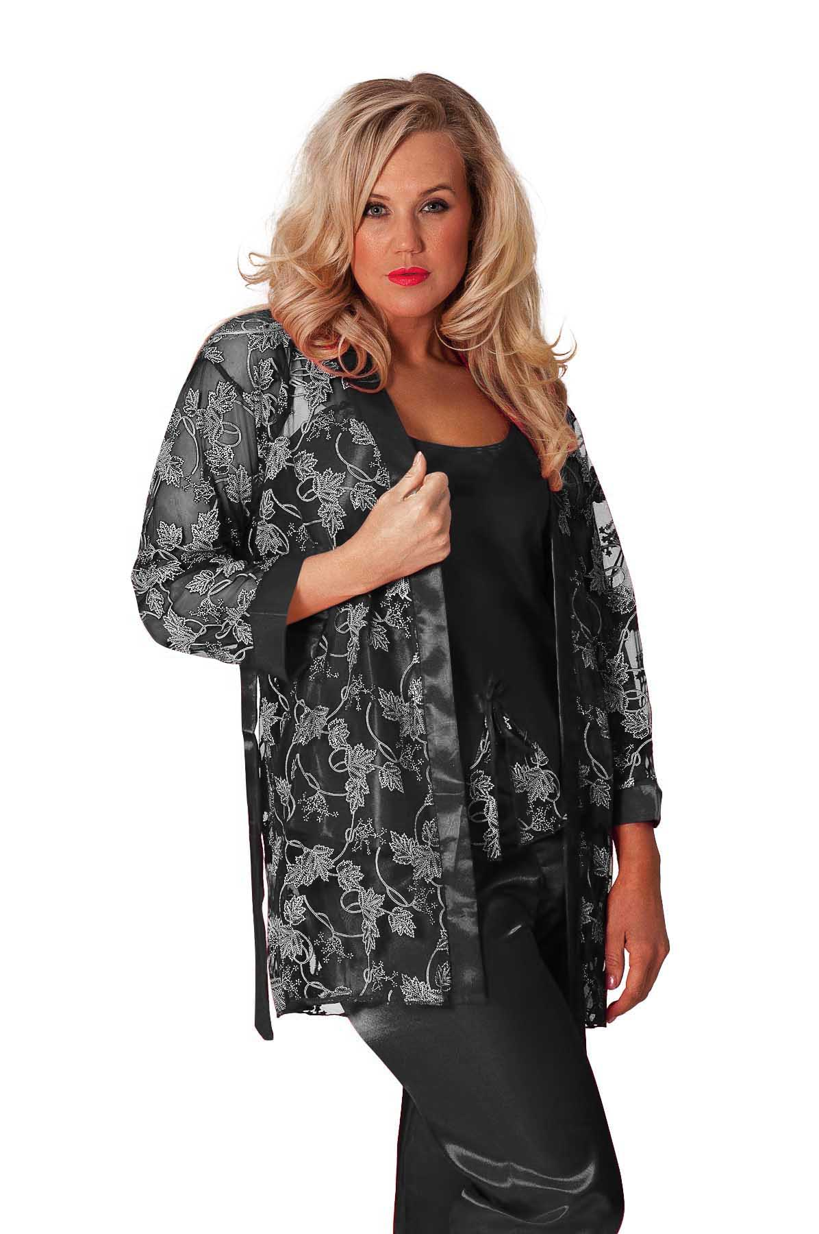 New womens plus size nightsuit satin ladies faux silk gown for Satin shirt dress plus size