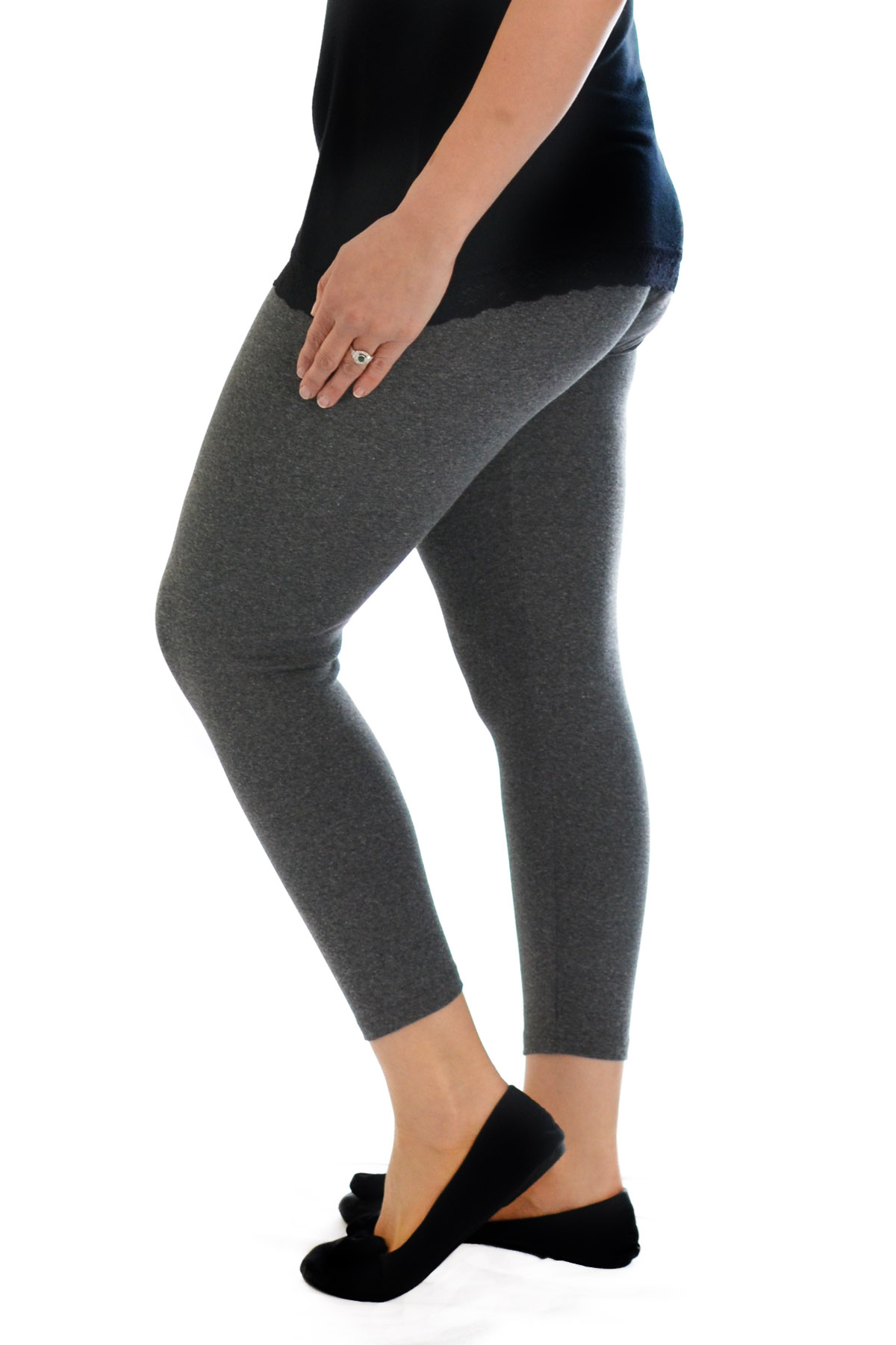 Ladies, I love my leggings. I run outdoors a lot and there's several brands that keep me warm: Athleta, Lululemon, Northface, Under Armour, the list goes on for athletic brand leggings.
