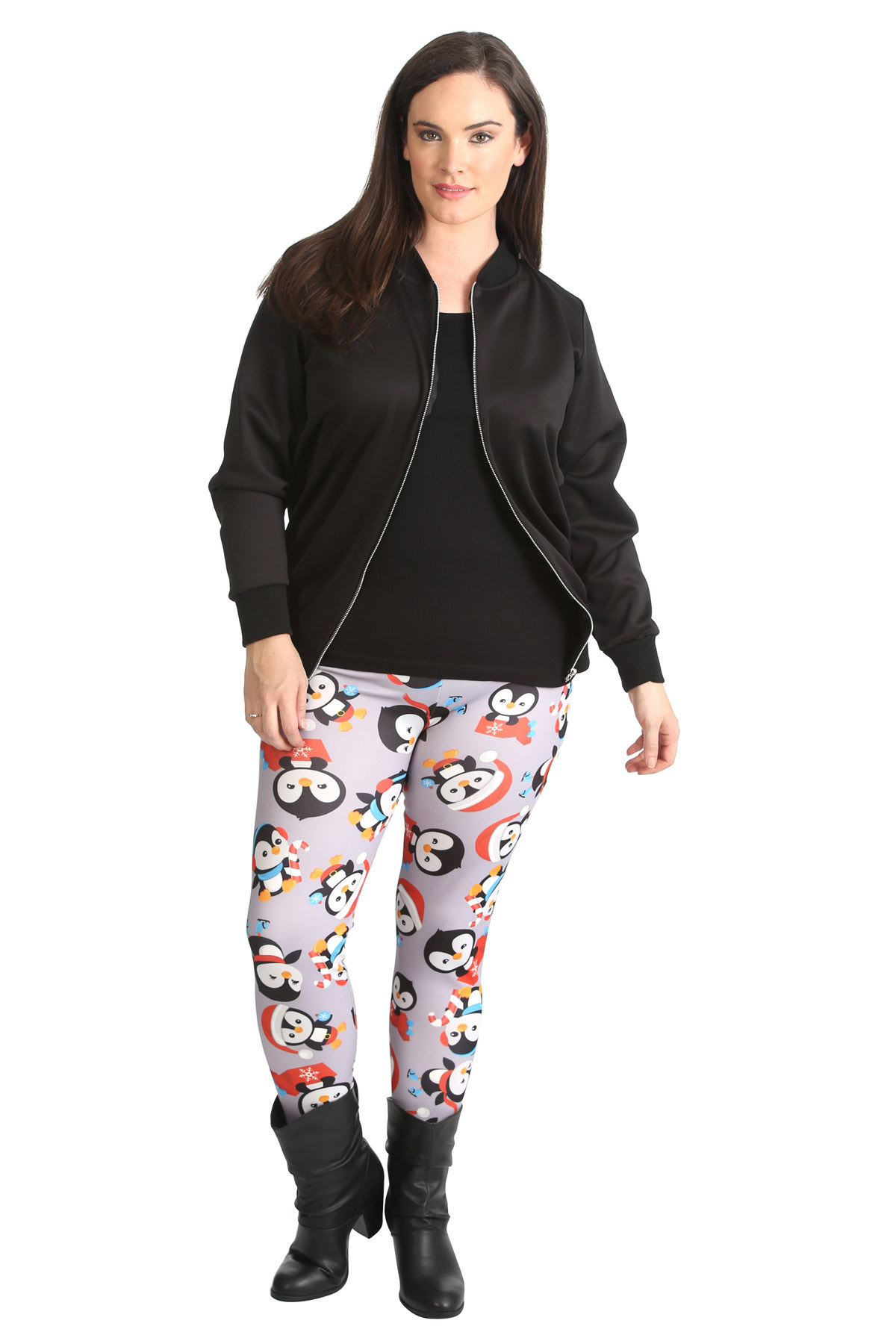 Discover women's plus size leggings in a variety of styles at zulily. Find the perfect high waist, shaper, printed, or colorful pair & save up to 70% off!