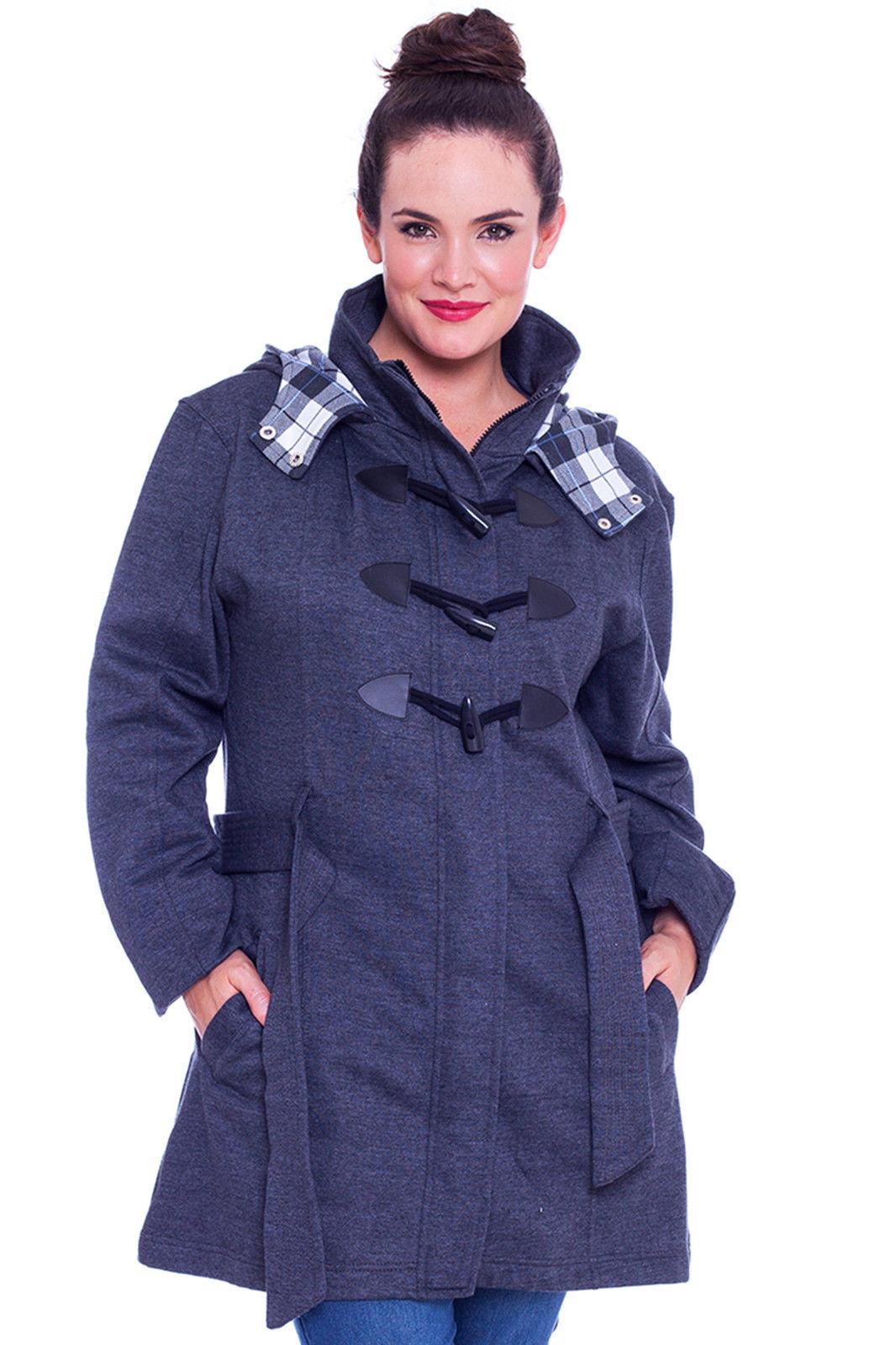 Womens toggle coats