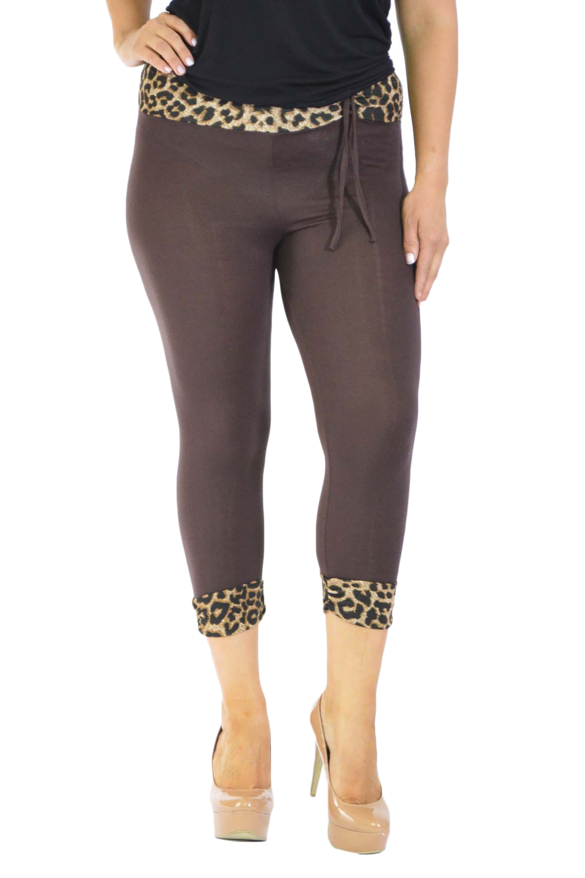 If you are looking for that perfect animal print legging then you are going to have to try our Plus Size Leopard Leggings. This is a photo-realistic fur textured leopard style design that gives amazing detail in a laser print that will ignite your wardrobe with new sexy outfit combinations.