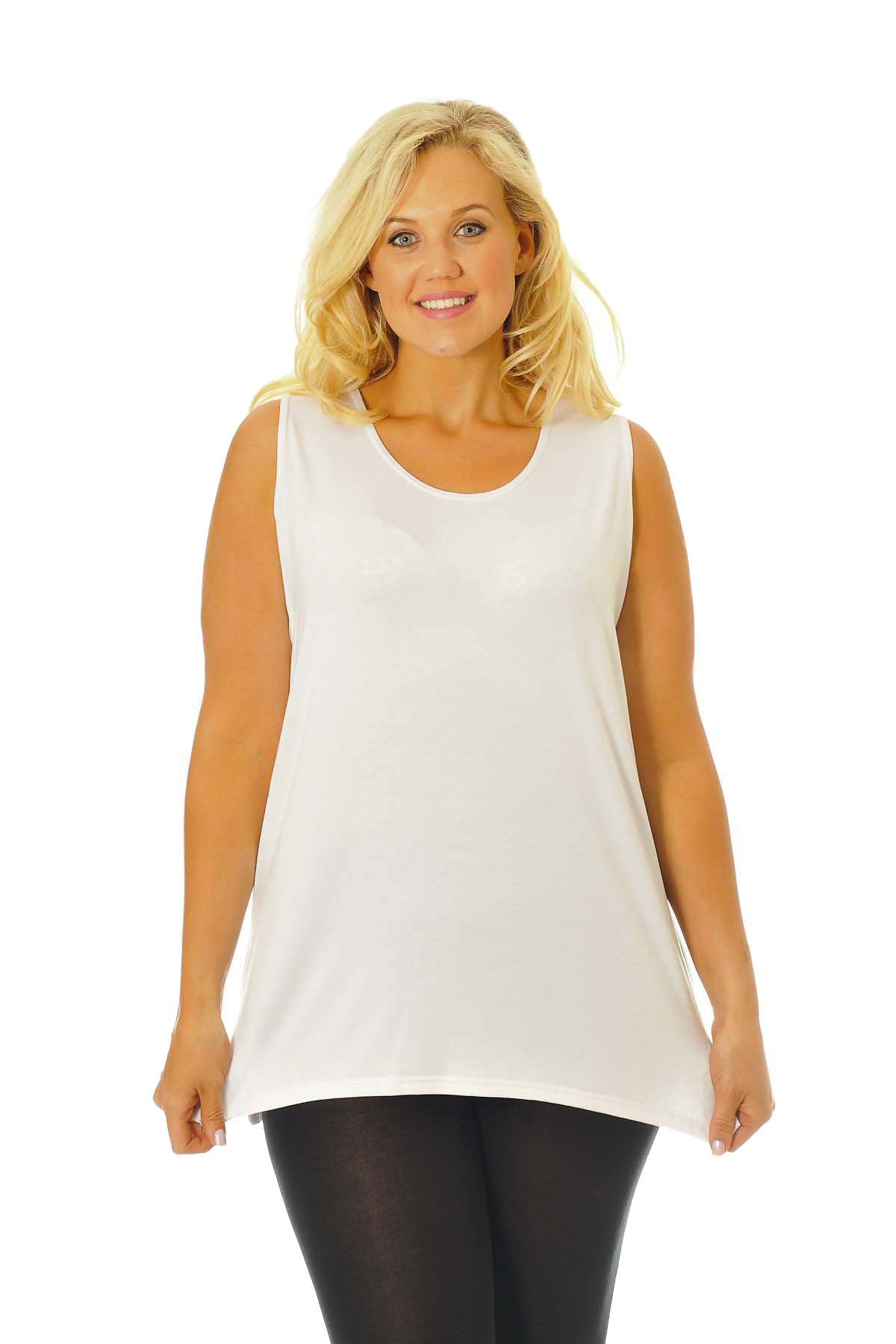 Plus size tops combine stylish looks and comfortable designs. Freshen up your wardrobe with a few new plus size tops. Tees, blouses and tanks open up brand new possibilities in your wardrobe with fits that flatter all figures. Reinvent your favorite jeans with a fun graphic tee or a beautiful tiered tank top.