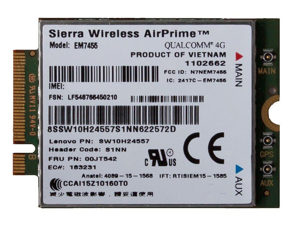 LENOVO Sierra Wireless AirPrime EM7455 Radio Modem ...