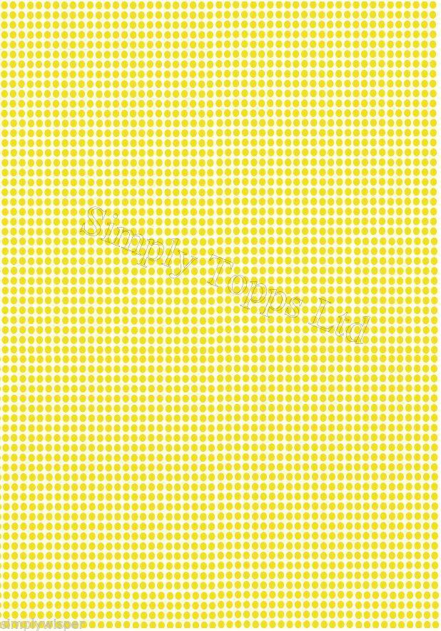 Polkadot Printed Sugar Icing Sheet 7 5x5