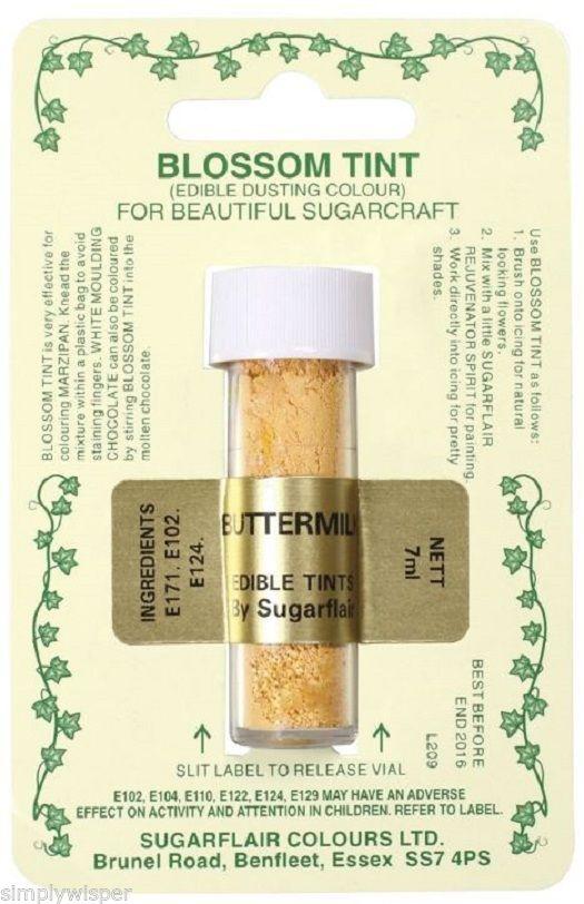 Sugarflair-Essbarer-Zucker-Staub-Konzentrat-Speisefarbe-Puder-Dekoration