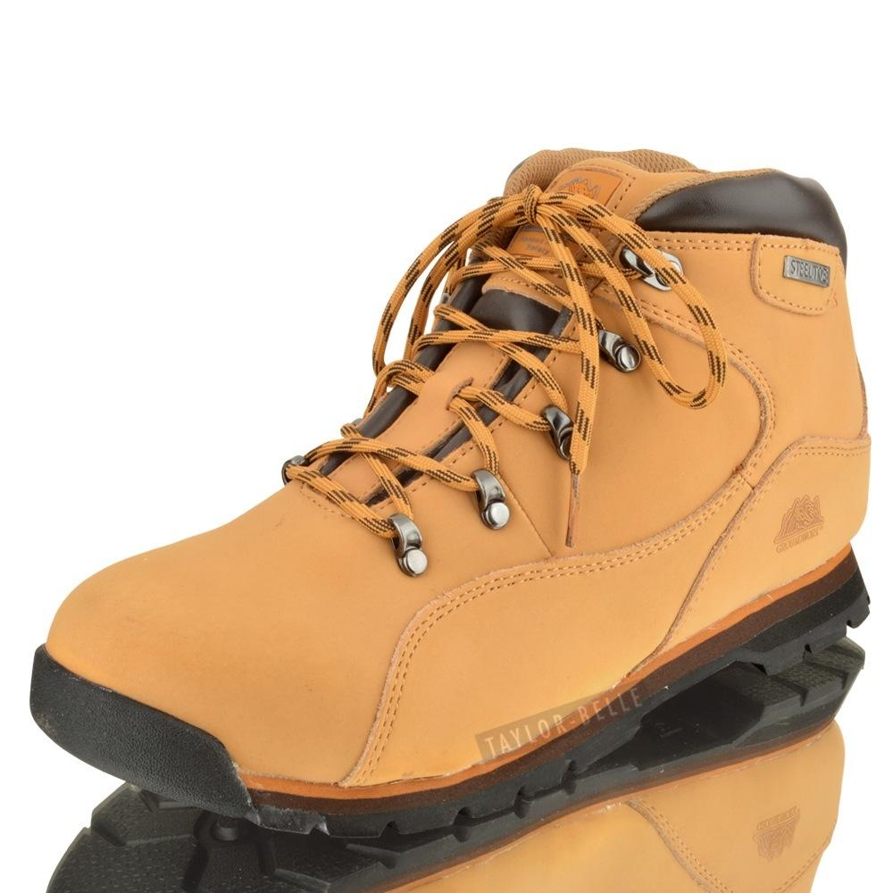 mens steel toe cap safety ankle boots hiking outdoor