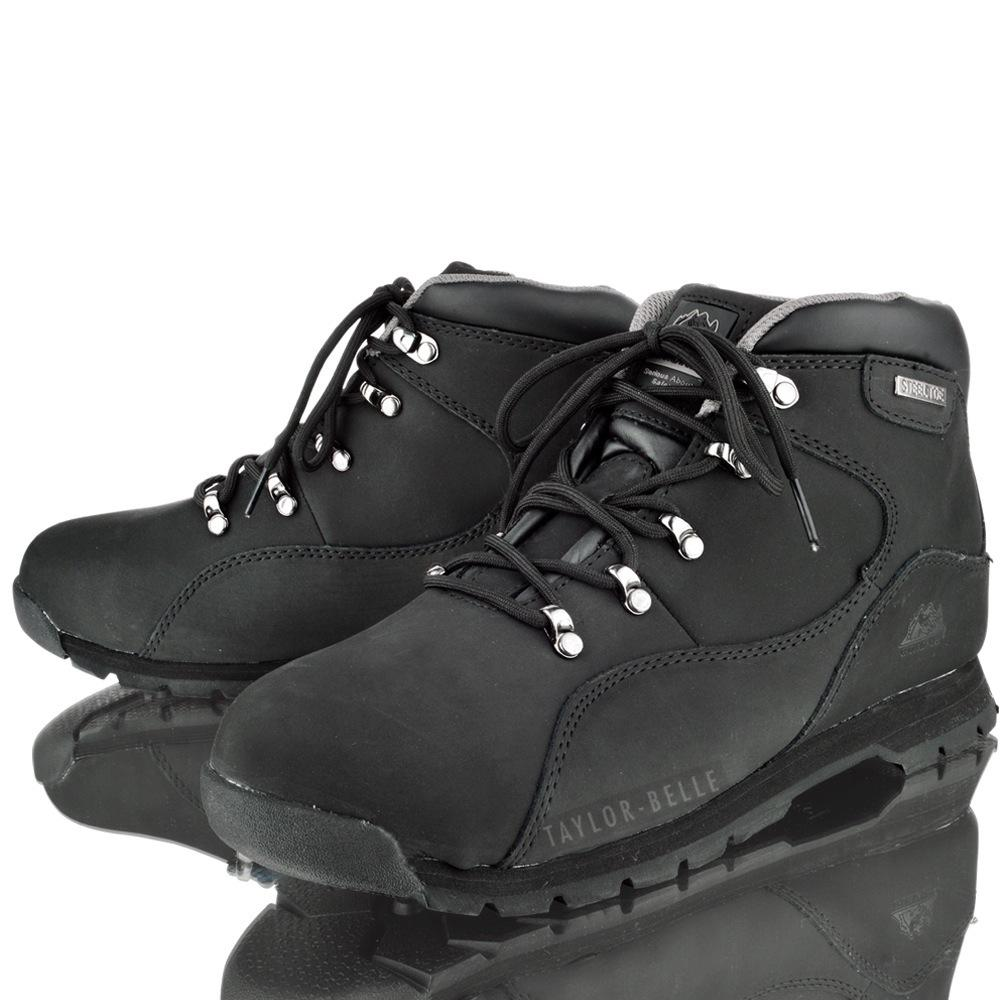 MENS GROUNDWORK GR66 SAFETY STEEL TOE HIKING WORK SHOE TRAINERS BOOTS