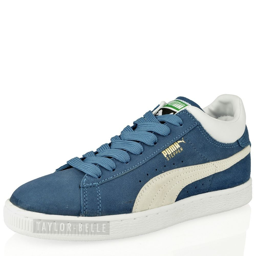 MENS-BOYS-PUMA-SUEDE-LEATHER-CLASSIC-SPORTS-CASUAL-TRAINERS-SHOES-SIZE-36-47