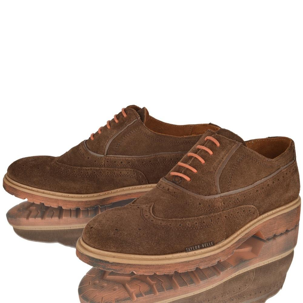NEW-MENS-REAL-LEATHER-SUEDE-BROGUE-LACE-UP-CASUAL-SMART-VINTAGE-SHOES-SIZE-6-11