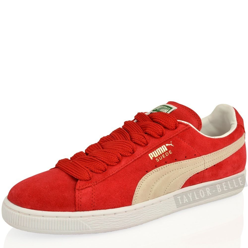 UK Shoes Store  MENS BOYS PUMA SUEDE LEATHER CLASSIC SKATE SPORT TRAINERS SHOES SIZE
