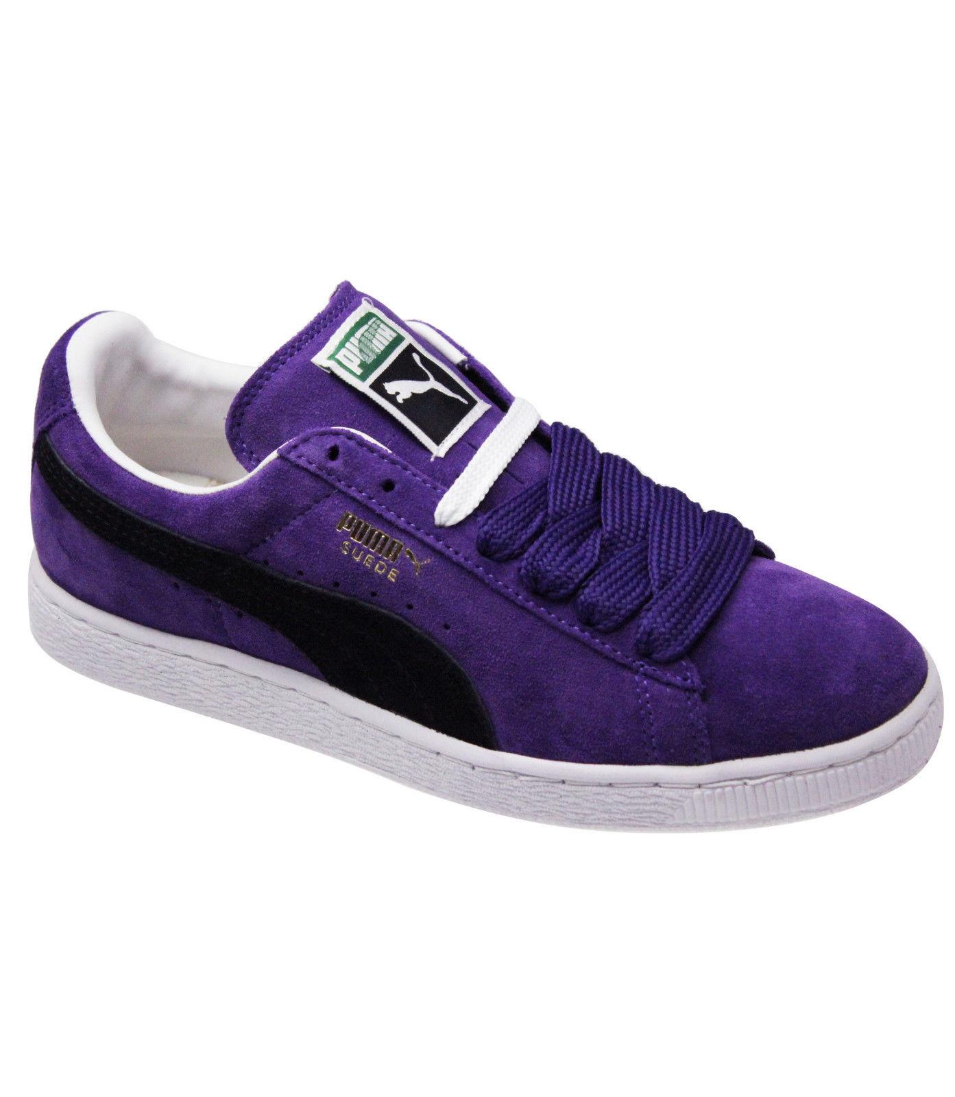 kids puma suede classic purple