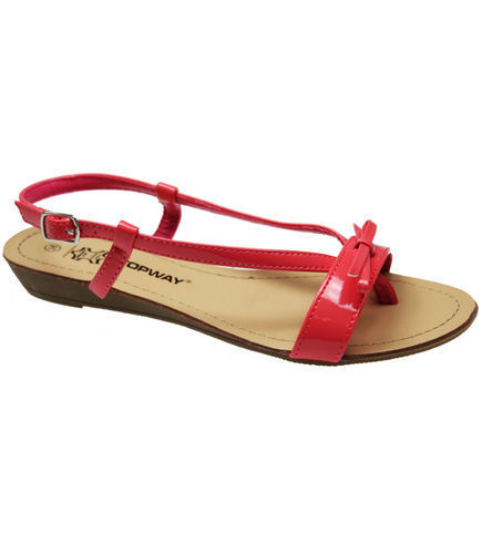 NEW-WOMENS-LADIES-LEATHER-INSOLES-SUMMER-BEACH-SANDALS-LOW-WEDGE-HEEL-SHOES-SIZE