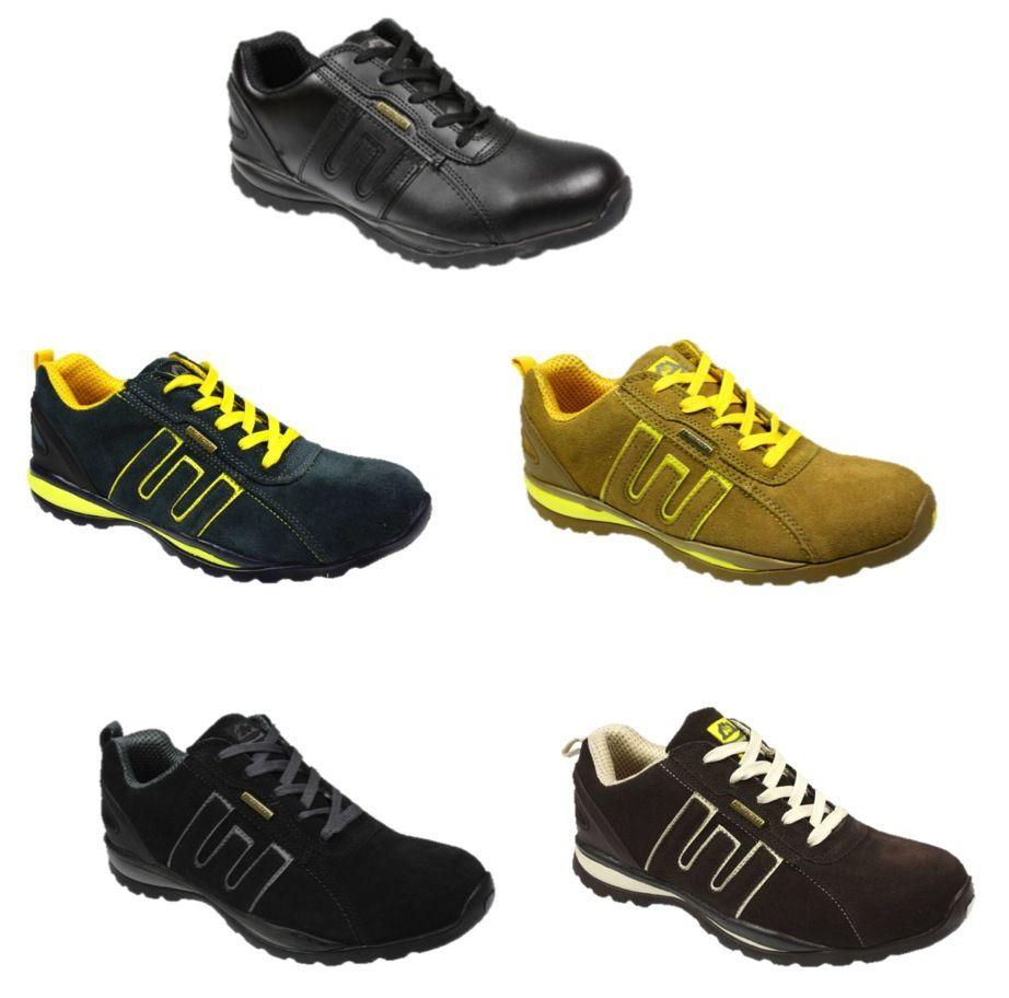 men 39 s groundwork safety steel toe cap trainers ebay. Black Bedroom Furniture Sets. Home Design Ideas