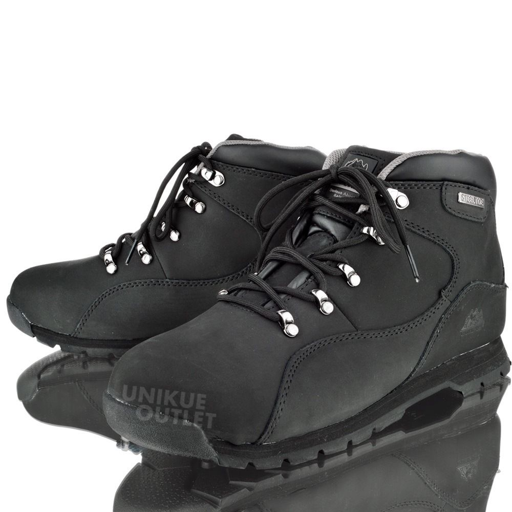 Mens Groundwork Gr66 Safety Steel Toe Hiking Work Shoe Trainers Boots FA_2262