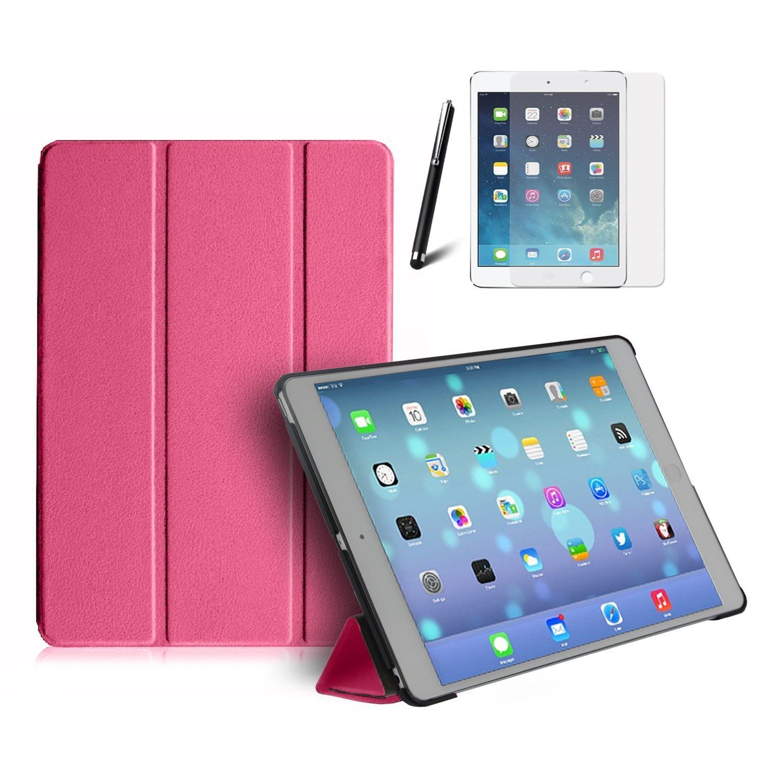 Premium Smart Case for Apple iPad Air Front & Back Protective Case Stand Cover