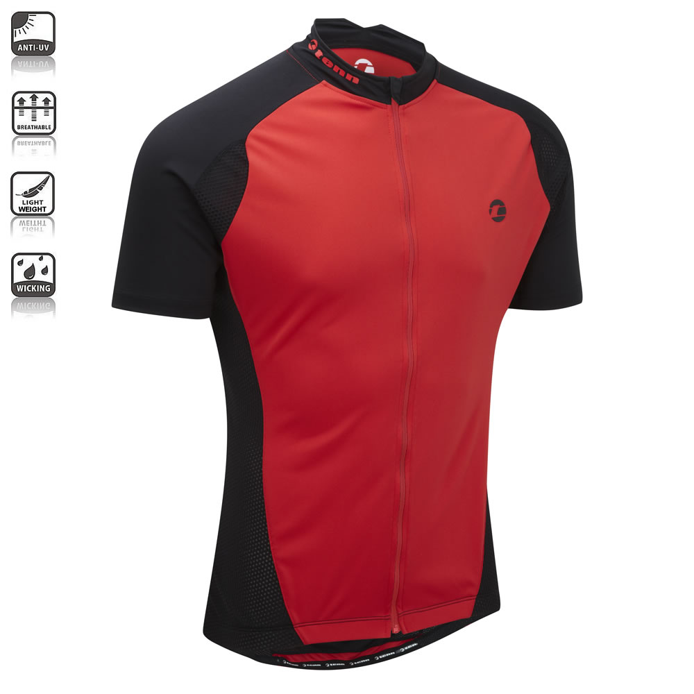 Tenn-Outdoors-Mens-Blend-S-S-Cycling-Jersey-with-Coffee-Fabric