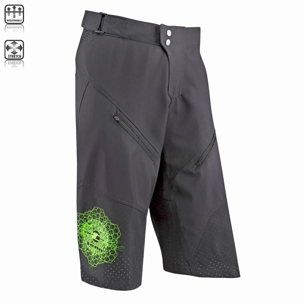Tenn-Outdoors-Mens-Breeze-MTB-Off-Road-3-4-Length-Ventilated-Baggy-Cycle-Shorts