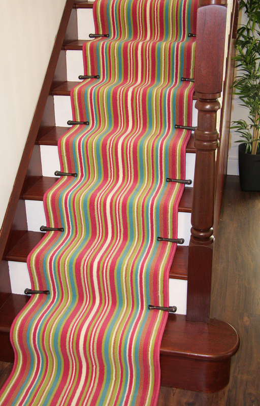 Striped Long Cut To Measure Any Length Stair