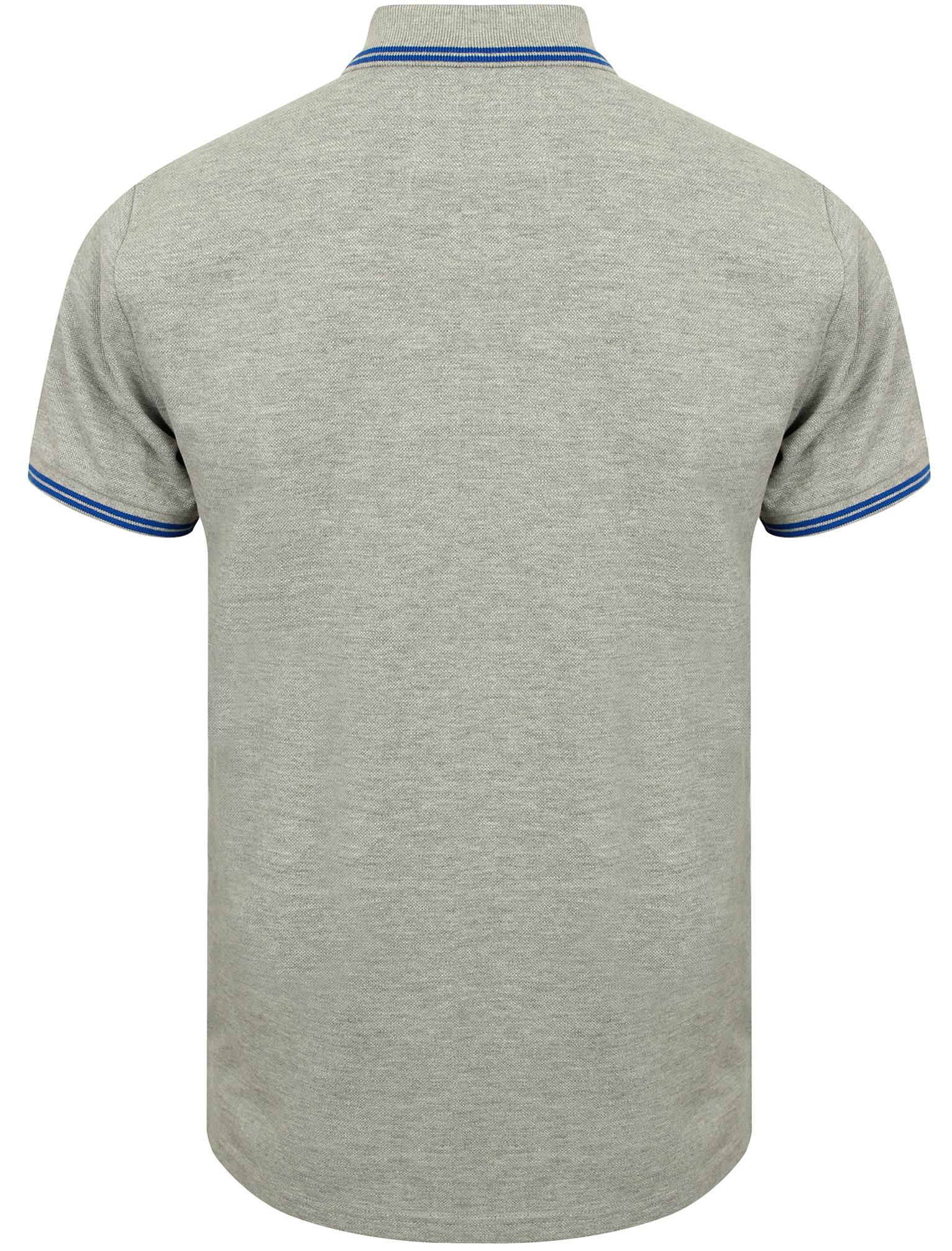 Homme Tokyo Laundry Esko Springs À Manches Courtes Riche Coton Polo Shirt Taille S-XL