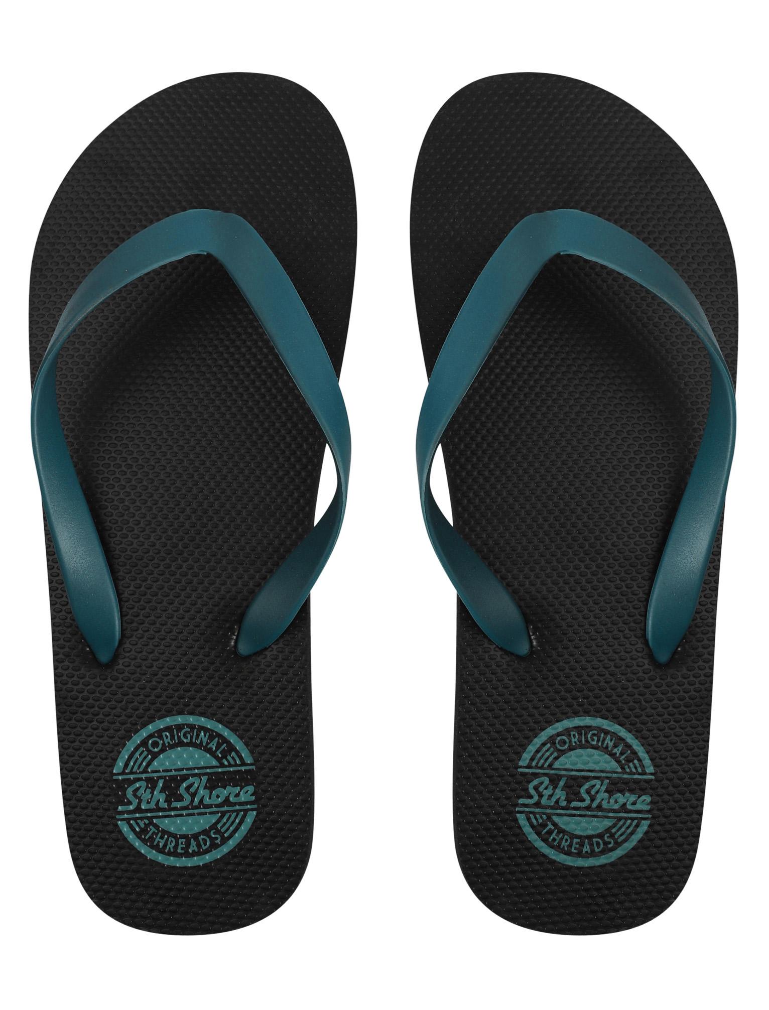 New Mens South Shore Pembroke Contrast Swim Shorts and Flip Flops Set Size S-XXL