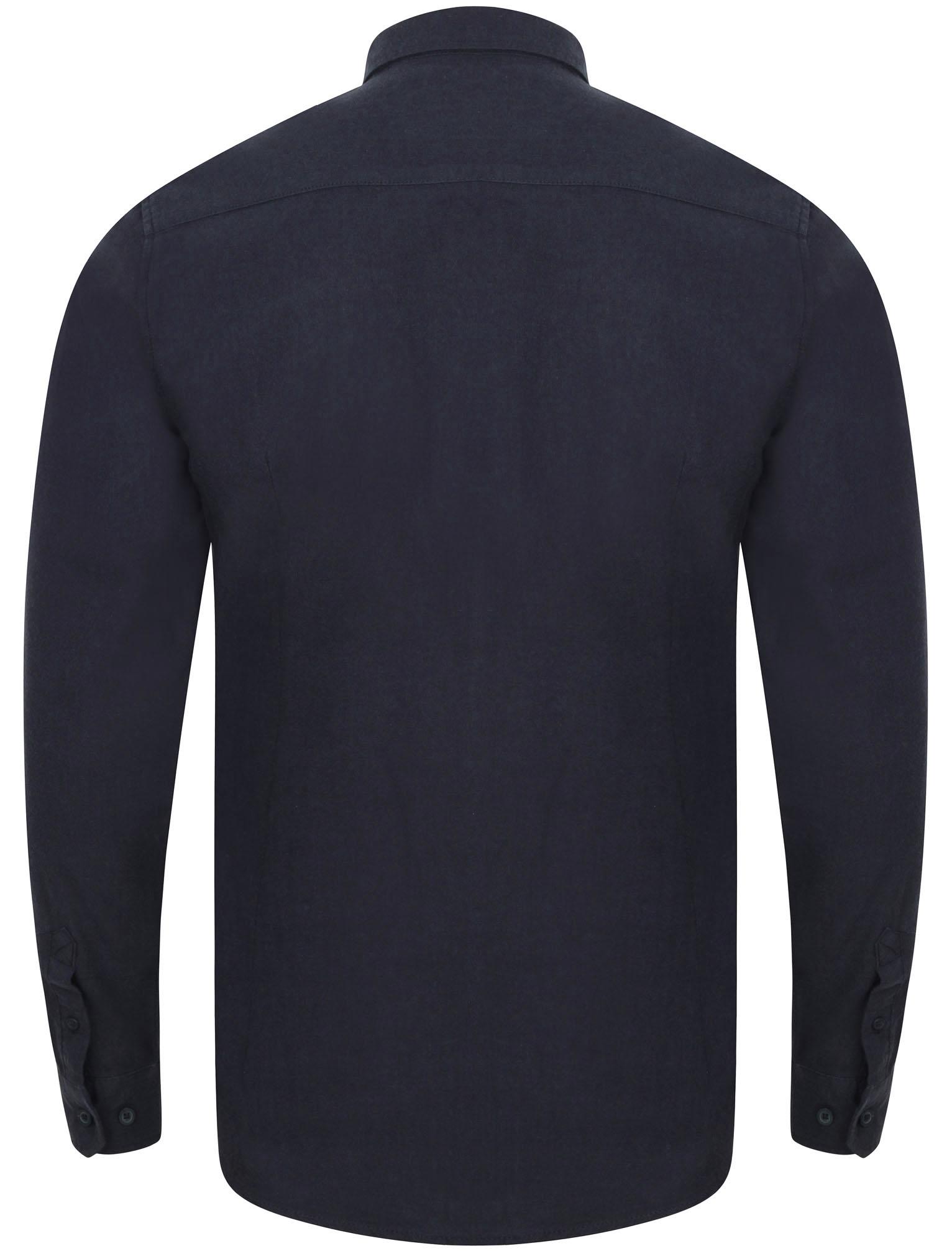 POLO da Uomo Tokyo Laundry Millbrook Cotone Cerniera Camicia a Maniche Lunghe Top Taglia S-XL