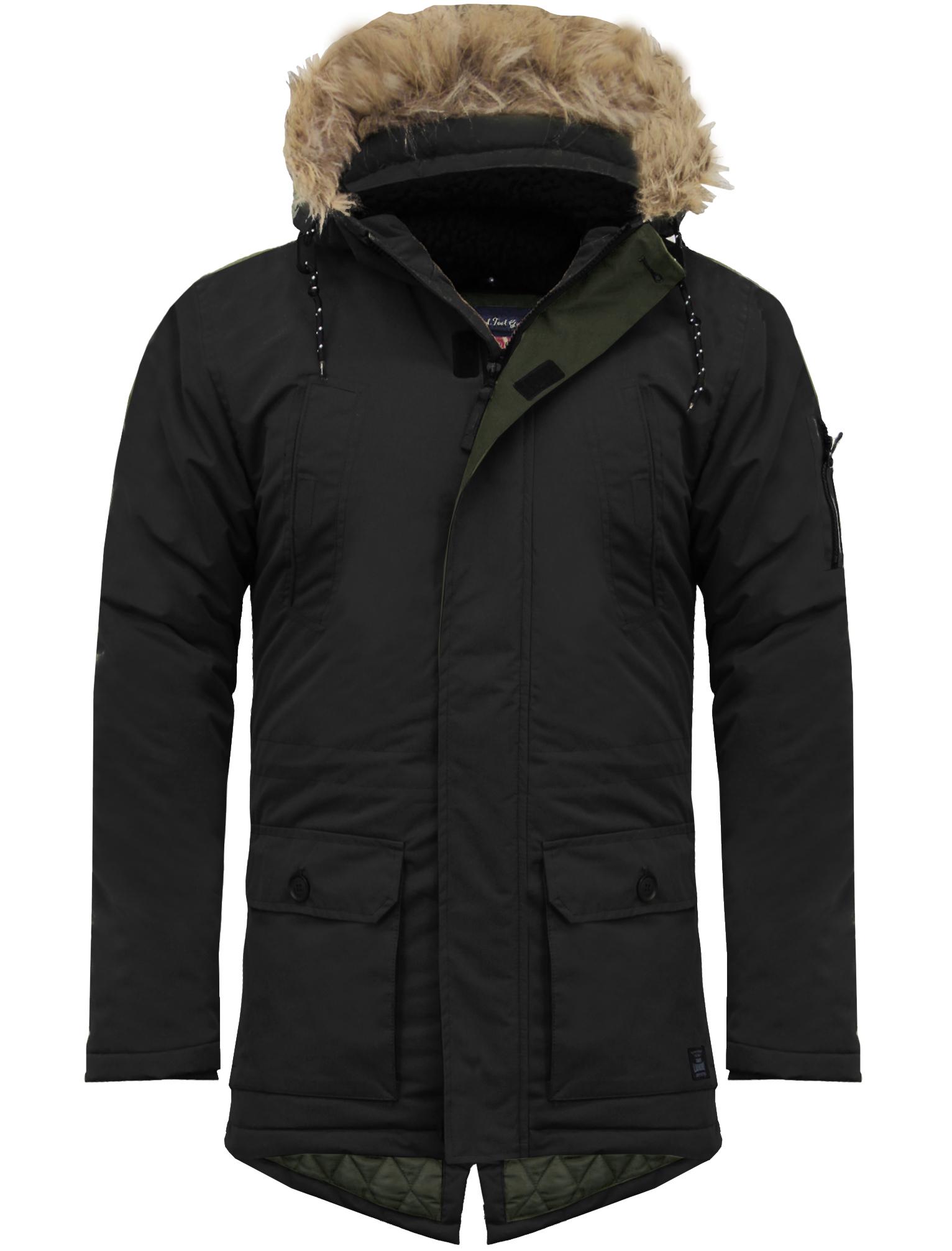 Black quilted jacket ebay