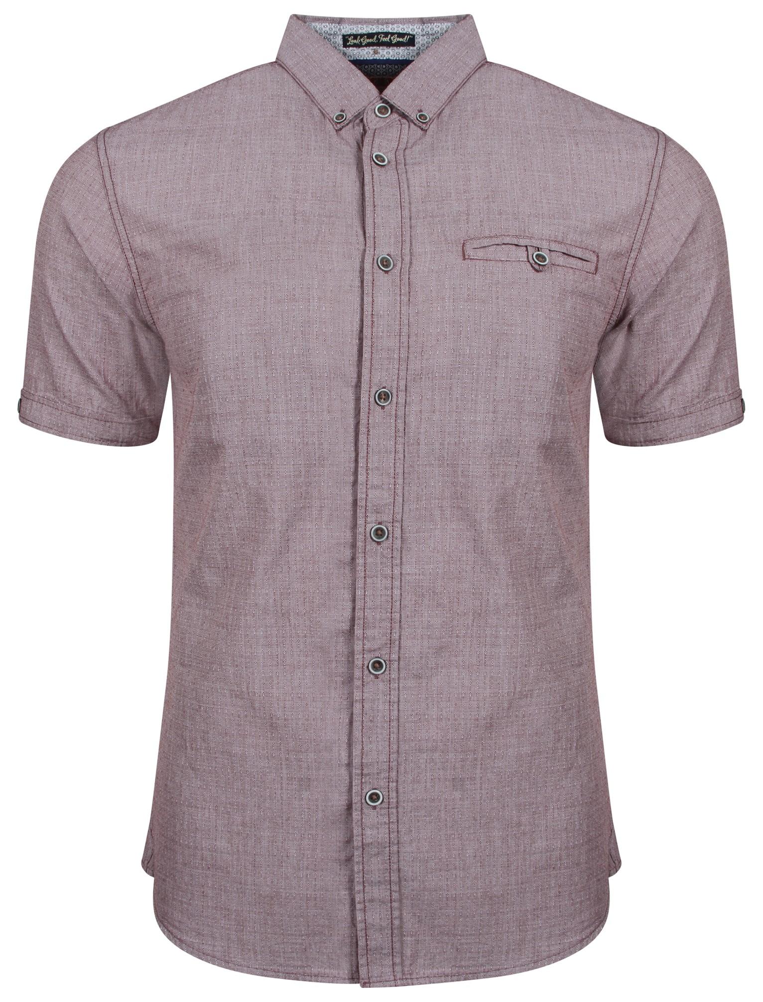 New Mens Tokyo Laundry Hewitt Short Sleeve Button Dress