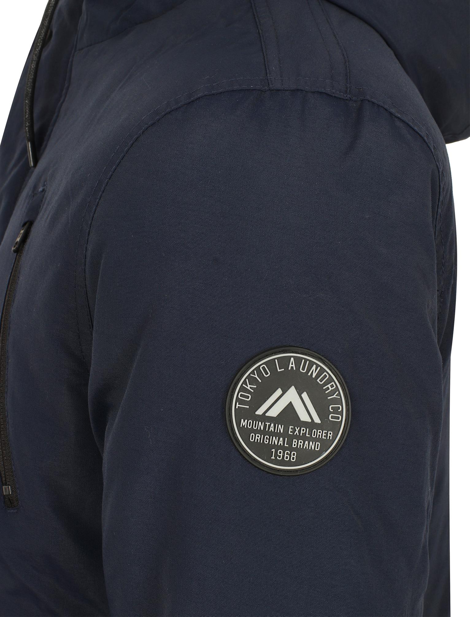 Tokyo Laundry Men/'s Lenart Hooded Parka Jacket Coat Size S M L XL XXL