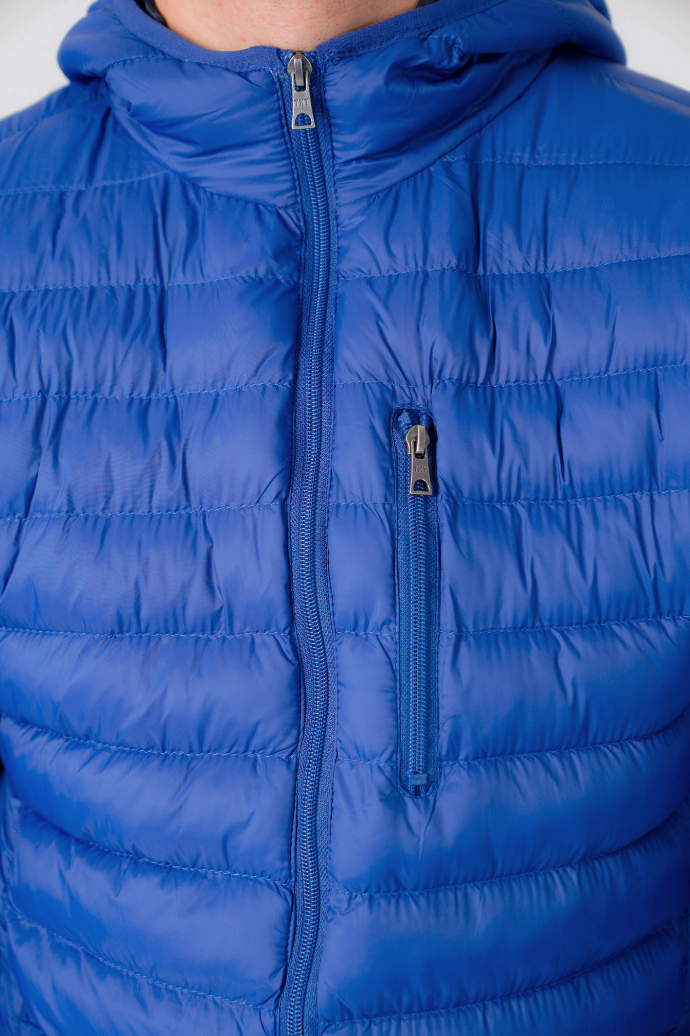 Tokyo Laundry Mens Vizzini Quilted Puffer Jacket Hooded Puffa Bubble Coat Padded