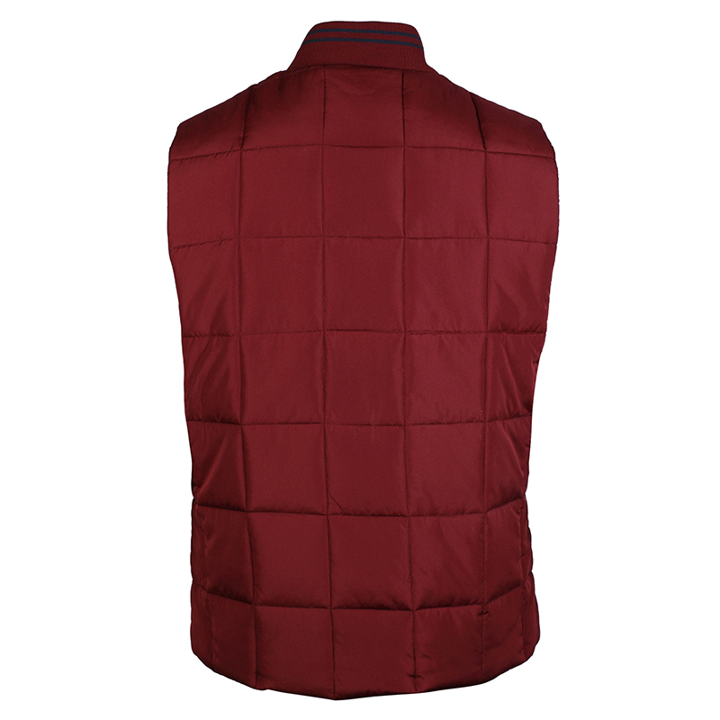Men/'s Tokyo Laundry Fermat contrast stripe ribbed collar quilted gilet size S-XL