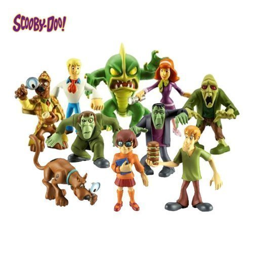 Best Scooby Doo Toys For Kids : Scooby doo the monsters figure pack kids ages toy