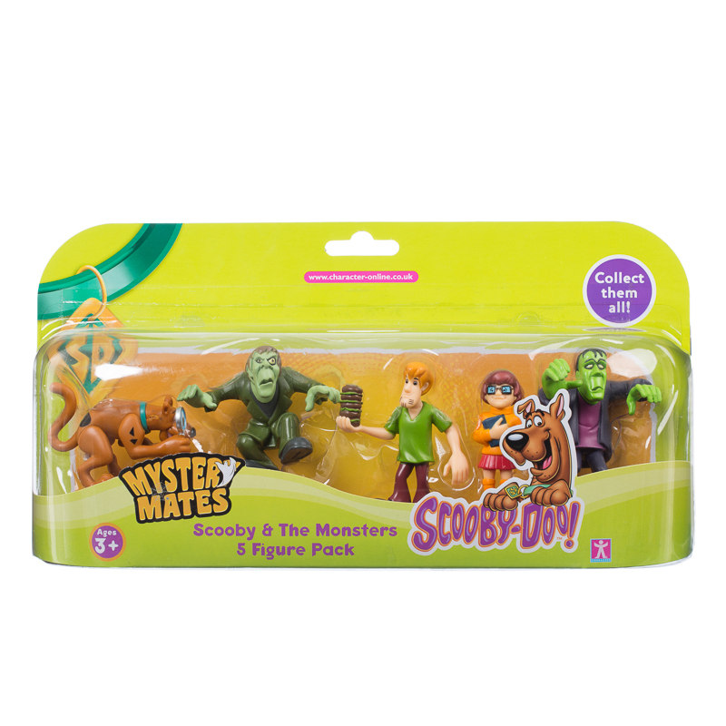 Scooby Doo Toys : Scooby doo the monsters figure pack kids ages toy