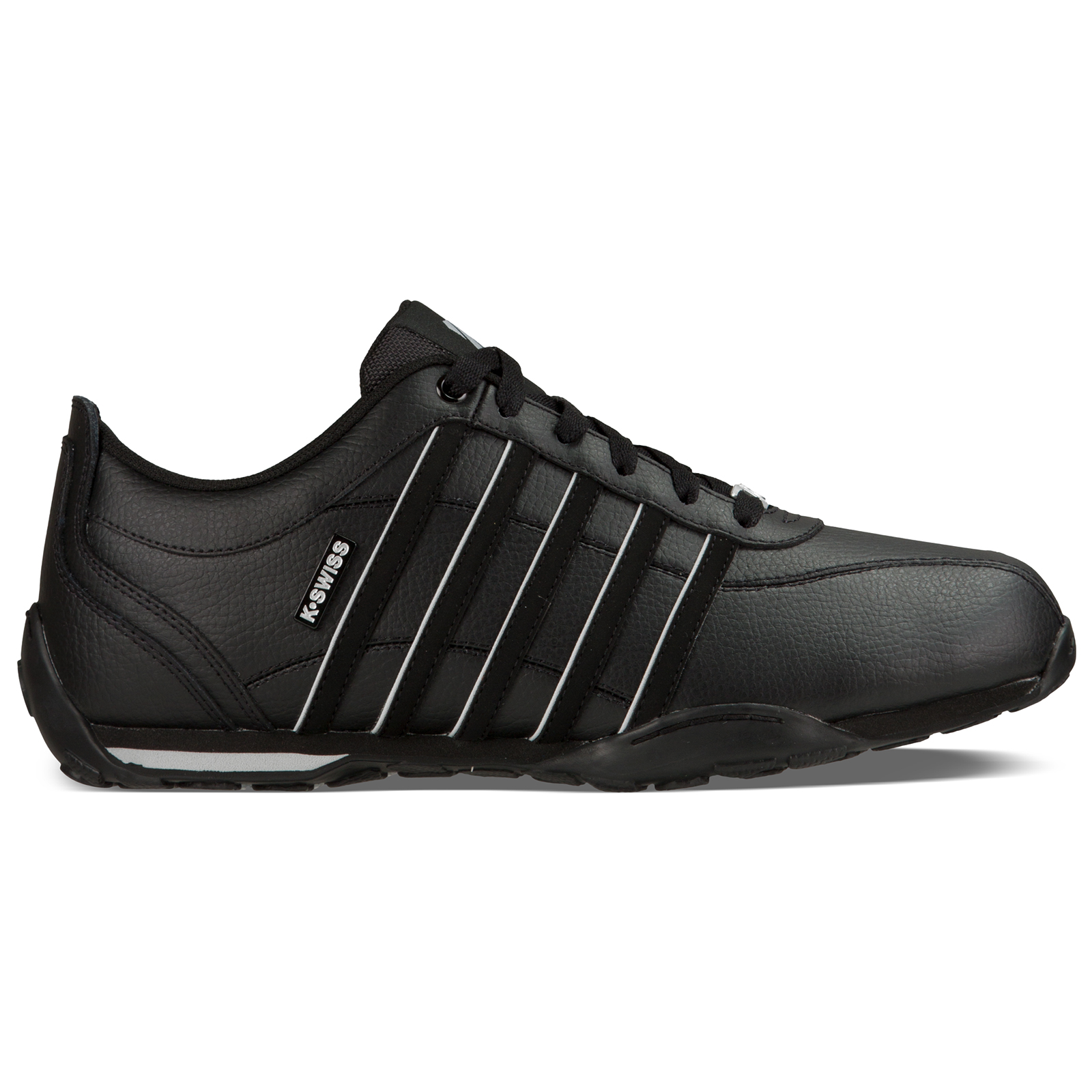 K-Swiss Mens Premium Leather Arvee 1.5 Trainers Iconic Retro Lace Up Sport Shoes